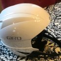 Giro Small White Sestriere Helmet with chinguard