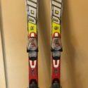 136cm 2011 Volkl Racetiger Jr SL with Marker 7.0 bindings